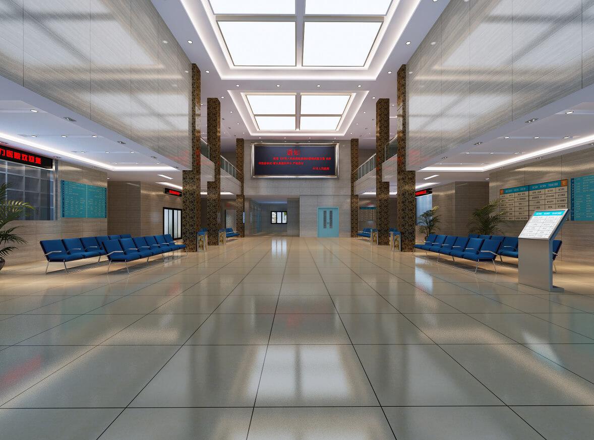 珠海办公室现代风格装修案例赏析